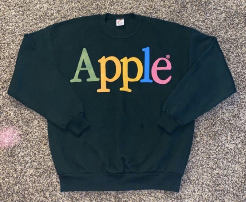 Vintage Apple Computers Jerzees Sweatshirt Size XL