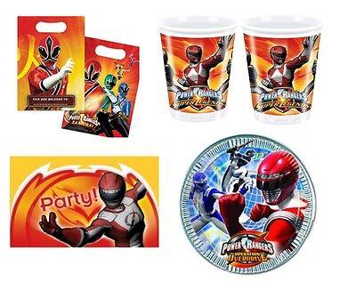 Power Rangers ~ Geburtstagsparty Lieferungen - Geschirr & Dekoration - Select