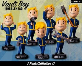 Fallout 4 Bobblehead Series 1 + GAME Exclusive