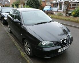 BREAKING SEAT IBIZA 2.0 3DR 2003 BLACK MOST PARTS AVAILABLE 114k MILES