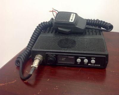 Vintage Midland 70-1336b Mobile Radio 150-174 Mhz Untested