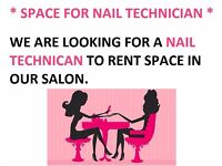 Space for nail technican