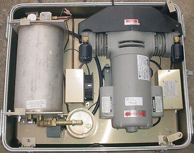 Defiance Pac 6.7 Portable Dental Air Compressor-dehydrator In Hard Case