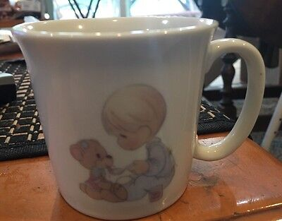 Precious Moments Jonathan & David 1983 ENESCO Baby Cup