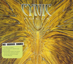 Cynic-Focus cd-Remastered with 6 bonus tracks-Like new-METAL!