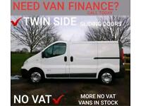 2010 RENAULT TRAFIC (NAV) ~ TWIN SIDE LOADING DOORS ~ NO VAT ~FINANCE ARRANGED