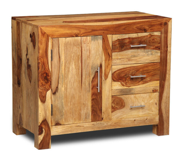 Cube Light Sheesham Small Sideboard C4l