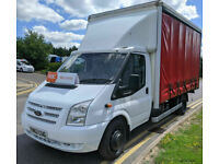 FORD TRANSIT 2.2TDCi CURTAINSIDER 155PS RWD 460 EXTENDED FRAME LWB TWIN WHEEL