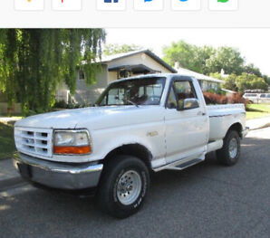 93 Ford F-150 stepside flareside