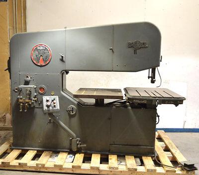 Doall 6013-3 60 3ph Industrial Metal Band Saw Hydraulic-tilt Jog Butt-welder