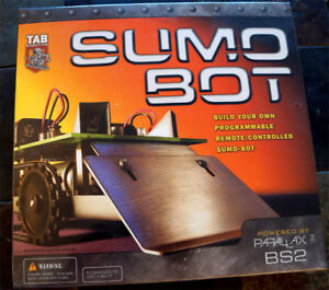 SUMO-BOT Programmable RC Competition Robot Kit
