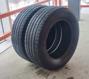 Sets of two 215/60/15,225/50/17,235/65/18 all season tires