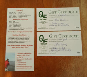 2 YOUTH whale watching tickets