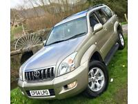 Toyota Land Cruiser 3.0 D-4D LC4**8 Seater Diesel**1Owner Last 9 Years,SATNAV!**