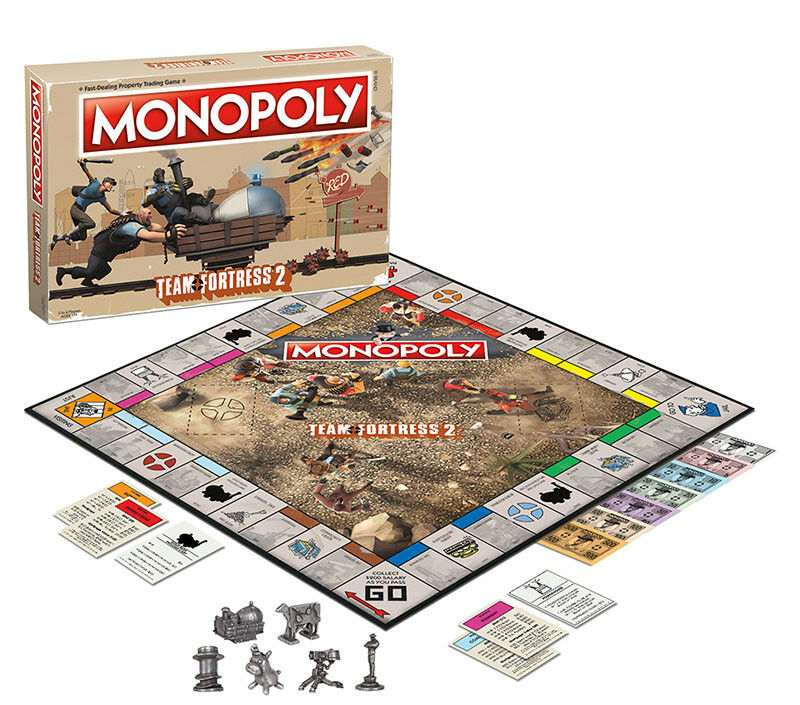 USAopoly MONOPOLY® Game of Thrones, The Walking Dead or Rick and Morty or more TeamFortress2
