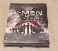 X-Men and The Wolverine Collection Xmen 6 Blu-ray Movies