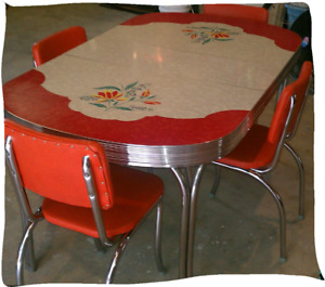 Looking For Retro Kitchen Set or Just Chairs