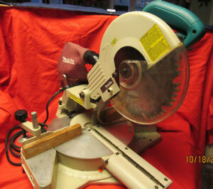 Makita Slide Compound Power Saw - Good working condition, Cheap!