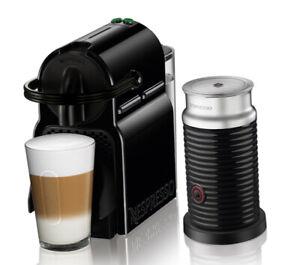 Nespresso Inissia Black & Aeroccino