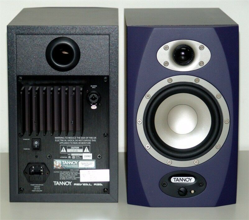 tannoy reveal rsa studio monitors in kirkcaldy fife gumtree. Black Bedroom Furniture Sets. Home Design Ideas