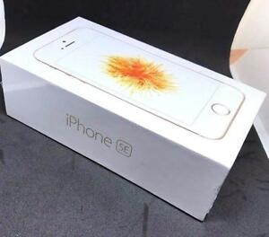 iPhone SE 64GB GOLD BRAND NEW SEALED BOXES  GOLD OR SILVER/WHITE , FACTORY UNLOCKED ( INTERNATIONAL )