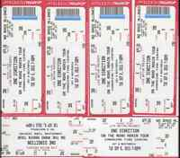 One Direction tickets - 1D Sept.8 - deep discount for fast sale