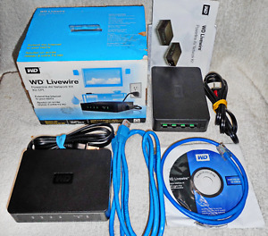 Western Digital WD Livewire Powerline AV Network Kit 200Mbps