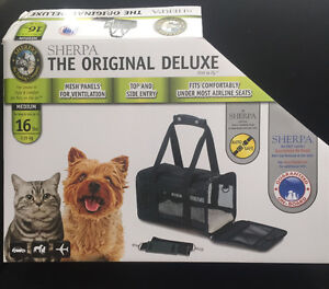 Sherpa Deluxe Pet Carrier - up to 16lbs