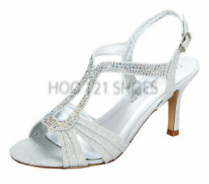 Size 7 silver shoes