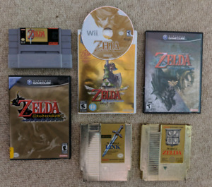 GAME LOT. LOTS OF ZELDA STUFF!