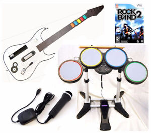 Looking to buy: Wii Rock Band & Dance Revolution