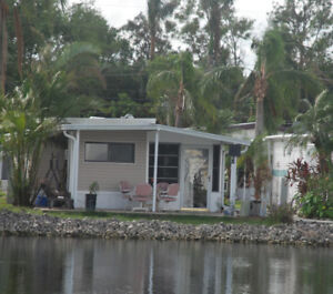 Lakeview Mobile Home, Lake San Marino, Naples, Fl $US38,900