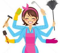 Entretien ménager Grand ménage de printemps