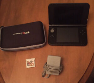 Nintendo 3DS XL System PLUS Super Smash Bros game AND case
