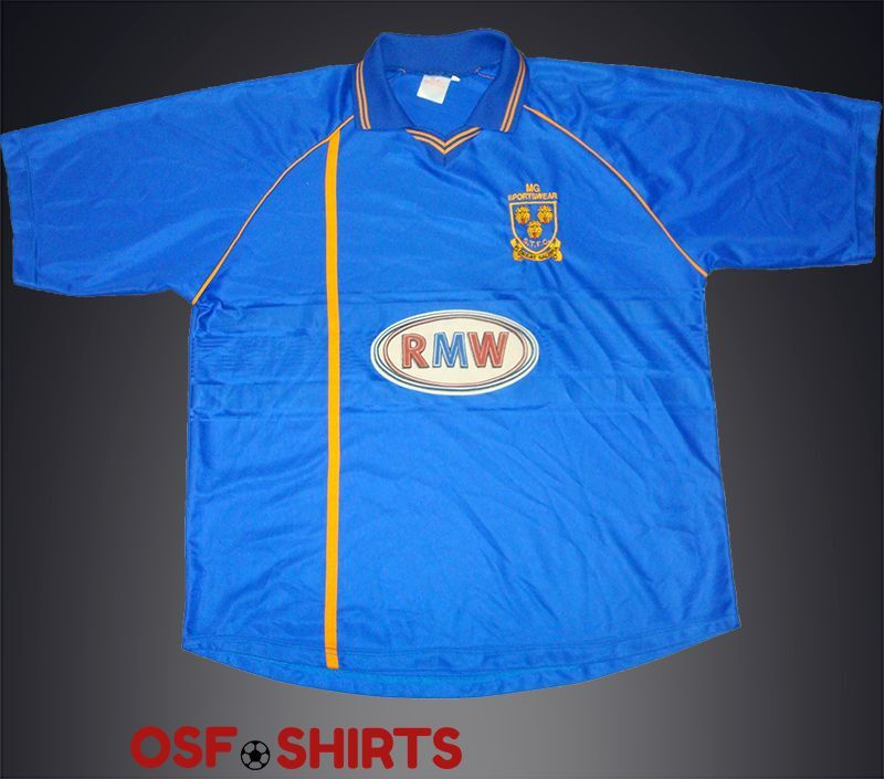 Shrewsbury (Town) Home 2003-2005 football shirt Jersey Maglia Camiseta Soccer XL