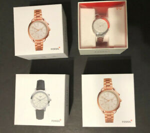 Women Fossil watches- new- Smart watch-connect iphone or Android