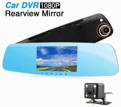 Ouchuangbo 5 inch Car Camera DVR Review Mirror Digital Video Recorder Motion