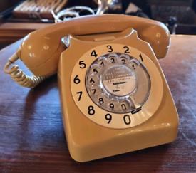 1970s rotary dial telephone
