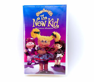 1994 Vintage Cabbage Patch Kids The New Kid VHS Tape Stop Motion
