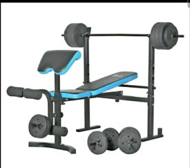 Mens Health 50KG Bench Set