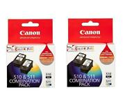 Canon Ink Cartridges 510 511