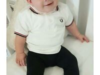 Fred perry polo (size 12m)