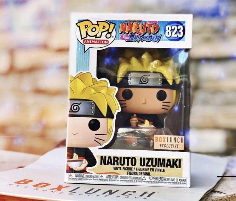 Funko Pop! NARUTO UZUMAKI EATING NOODLES Boxlunch Exclusive 🔥 IN HAND 🔥