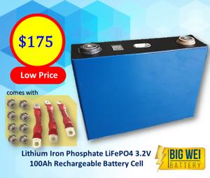 Class A 3.2V 100Ah Li Iron Phosphate LiFePo4 Rechargeable Battery Slacks Creek Logan Area Preview