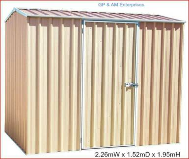 2mtr Absco Eco-Nomy Range Garden Shed 1xDoor Tool Bike Storage Daisy Hill Logan Area Preview