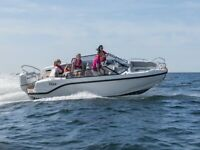 Silver Tiger BR 6m with 115hp Suzuki or Honda Outboard