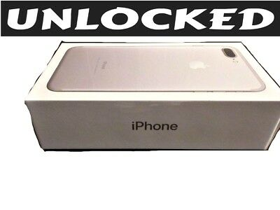 Apple iPhone 7 Plus 128GB SILVER (UNLOCKED) Verizon / T-Mobile / MetroPCS *NEW*W