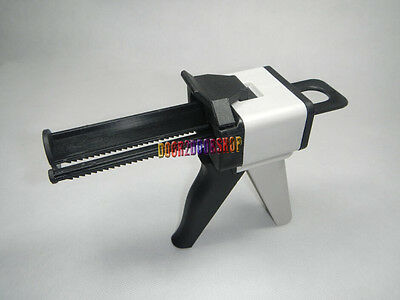 New 10141 Dental Ratio Dental Impression Mixing Dispenser Gun Caulking 50ml