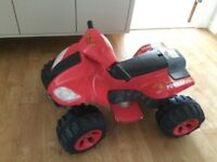 Childs Electric Quad bike AS NEW COST £150! Age 3+