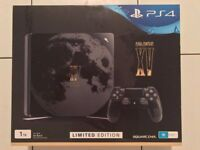 1TB Playstation 4 Slim - Final Fantasy 15 Limited edition PS4 Console, with Final fantasy 15 game.